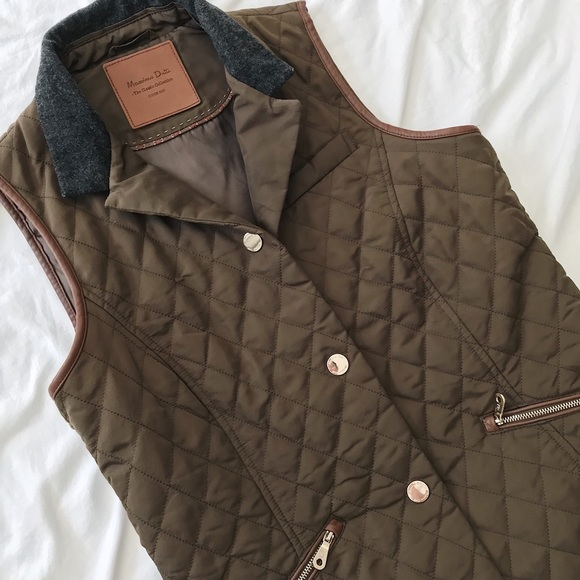 Dutti Vest Coats Collection Jackets Green amp; Massimo Classic Small dF6xt0xw
